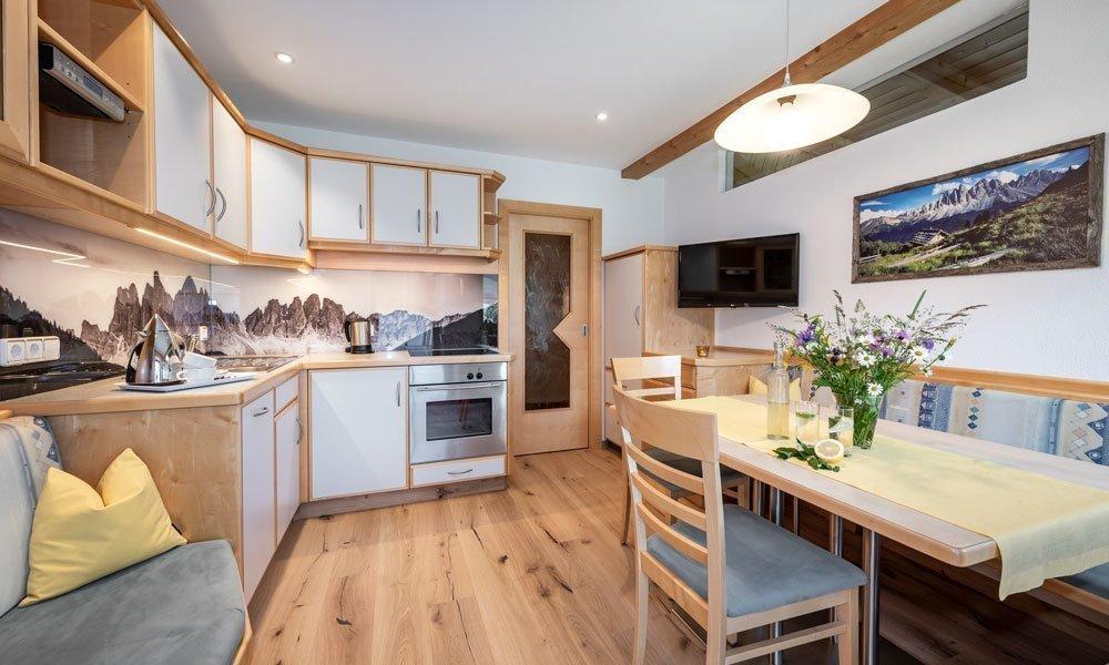 Appartments Bergblick Wohnung Fichte Küche