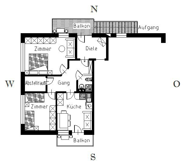 "Piantina - Appartamento ""Lärche"""