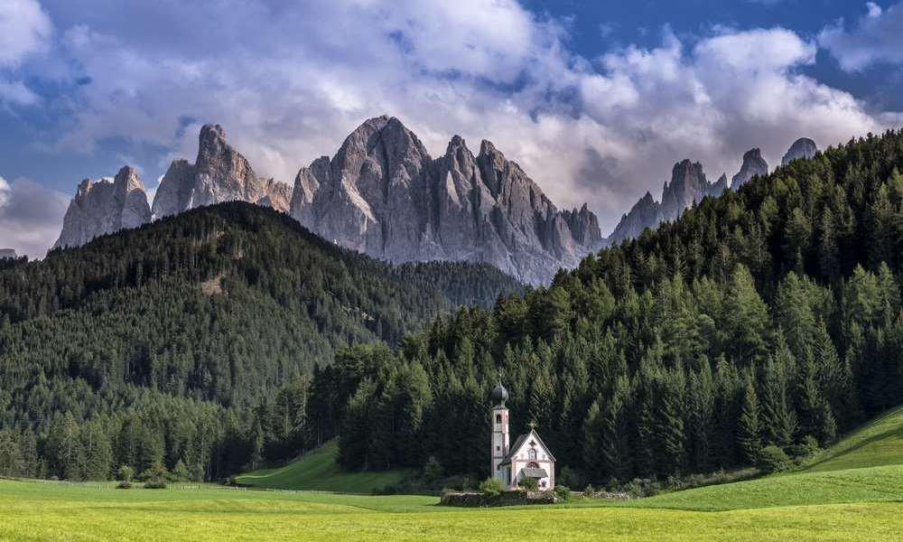 Villnössertal: Ideale Lage und atemberaubendes Panorama