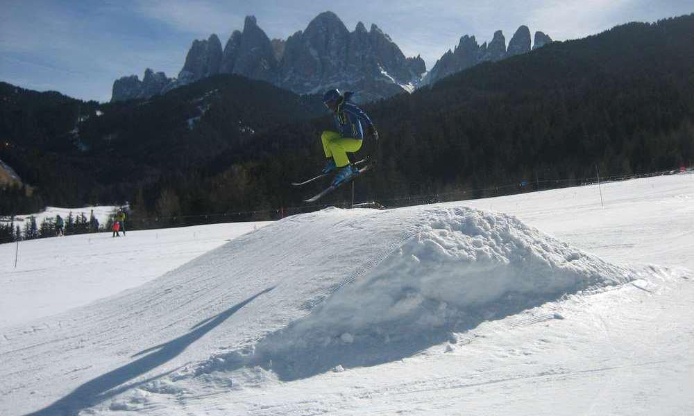 Skifahren in Villnöss